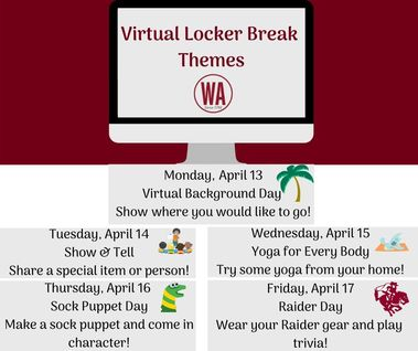 Virtual Locker Break Themes